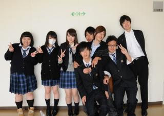 府内高等学校制服画像