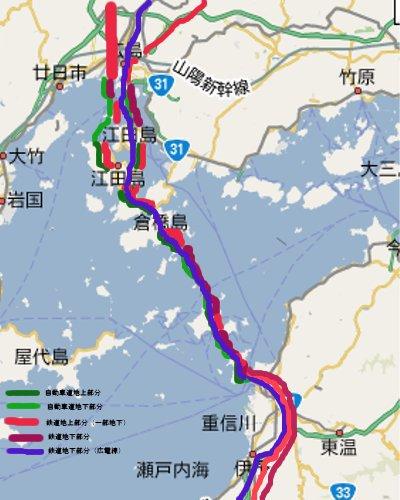 中四国横断ルート