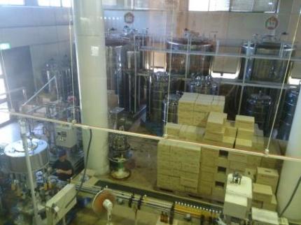 ハブ酒製造工程