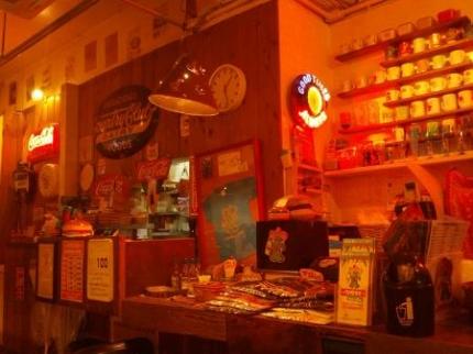 アメリカ食堂店内2