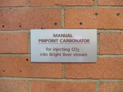 ビールに炭酸を入れる装置