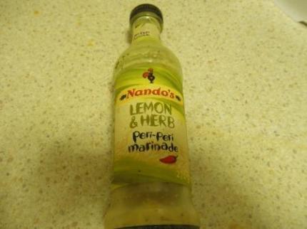 ナンドスのレモンソース
