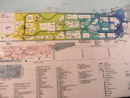 EXPOの地図