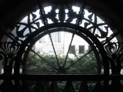 綺麗な窓枠