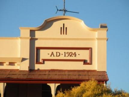 1924年に建てられたホテル