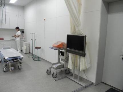 救護室モニター