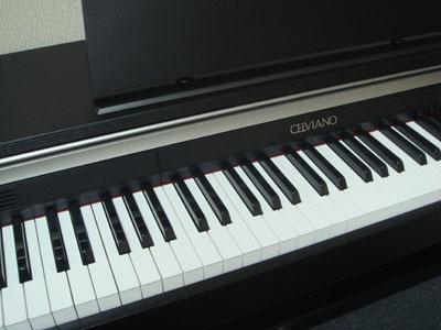 CASIOの電子ピアノだよ