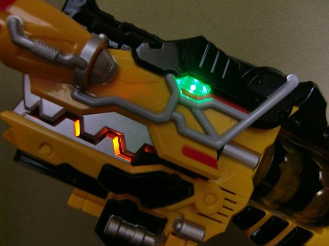 変身銃 ガブリボルバーLED拡張キット LED発光
