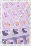 切手枠の切手たち