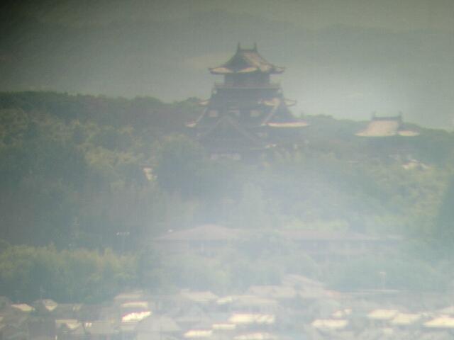 京都タワーから見た伏見城
