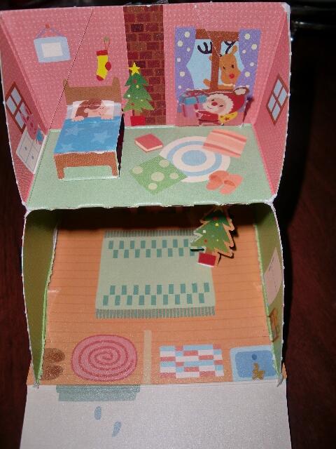チロルチョコのクリスマスハウス