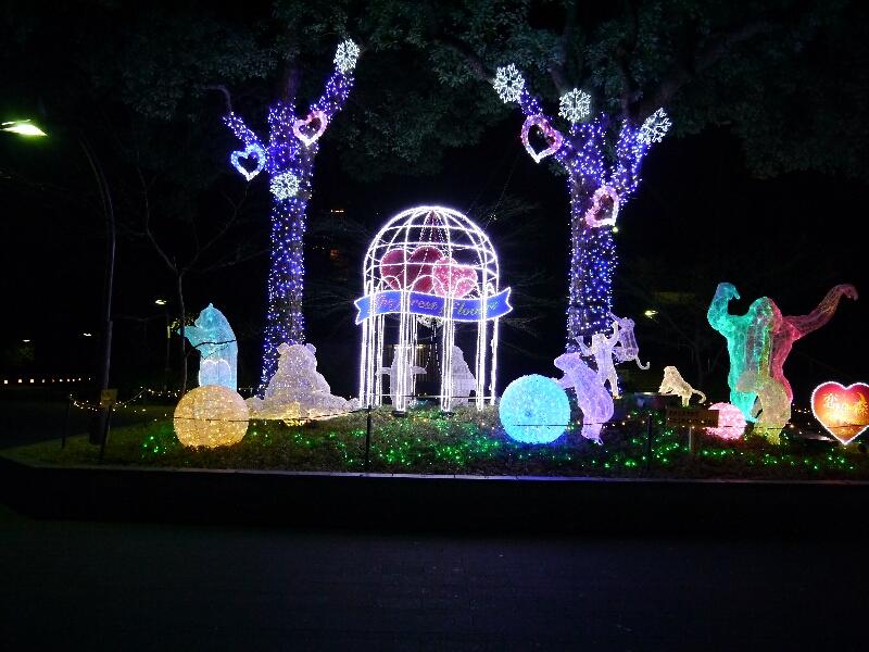 2012上野公園イルミネーション
