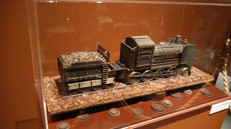 チョコレート展 蒸気機関車