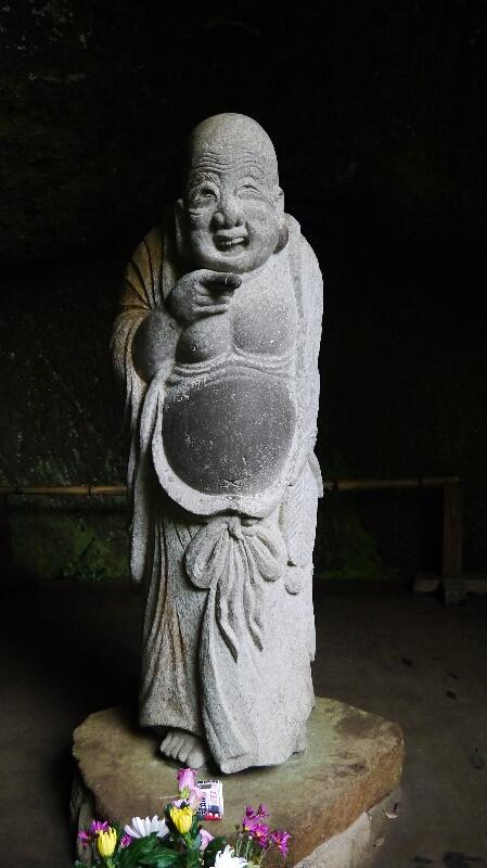 浄智寺の布袋様