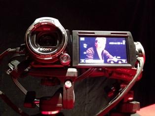 収録カメラ