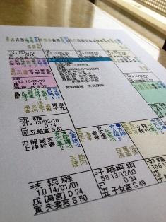 紫微斗数命盤1 - コピー