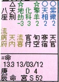 紫微斗数命盤2