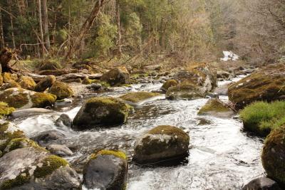 ロック 近くの川