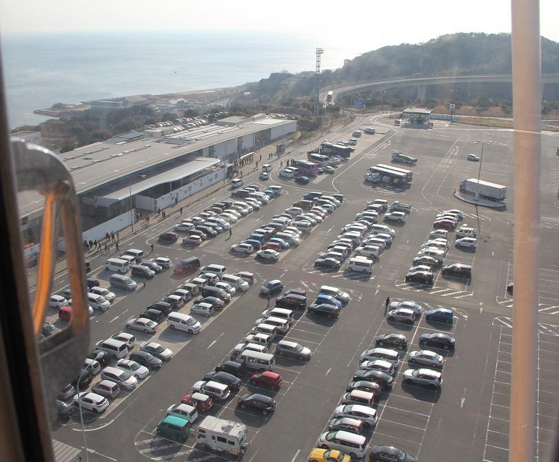 駐車場俯瞰