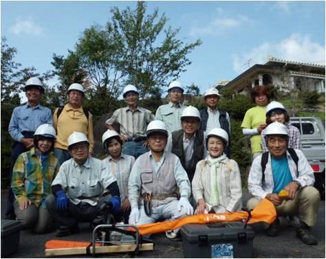 小里川ダム・集合写真