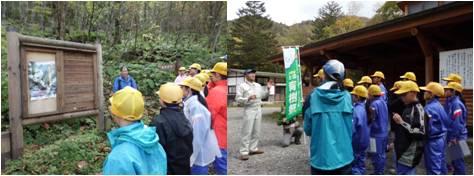 栃尾小・国有林育樹祭