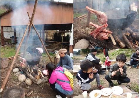 高山森守・シシ肉