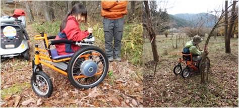 森なり・開発中車椅子