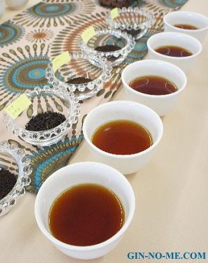 アフリカの紅茶、飲み比べ