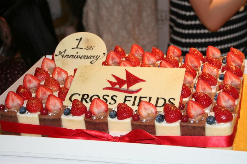 1周年記念ケーキ