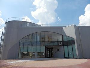 国史跡武蔵府中熊野神社古墳展示館