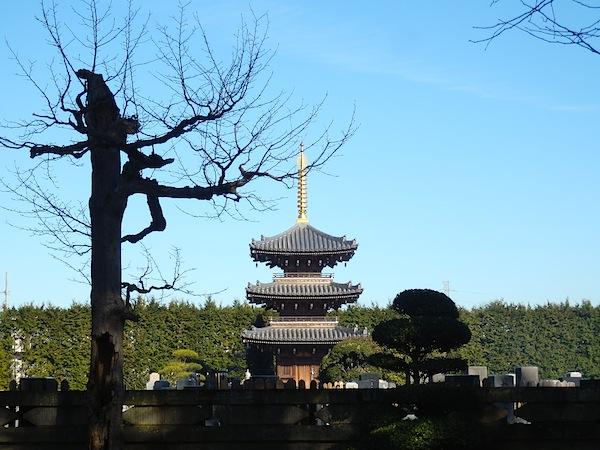 慶元寺 三重塔