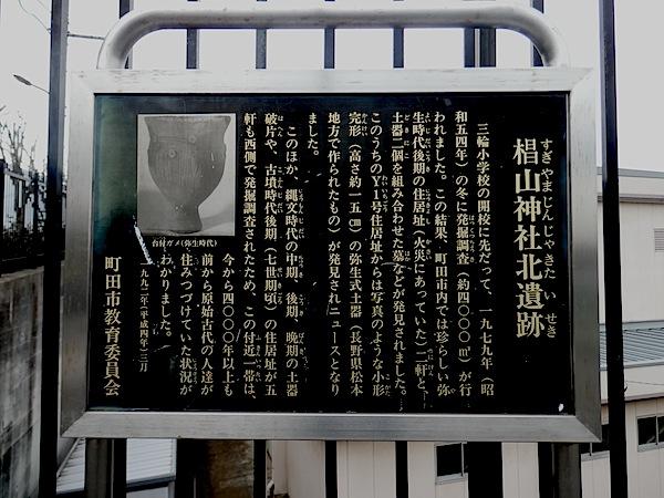 「西谷戸横穴墓群」(東京都指定史跡)