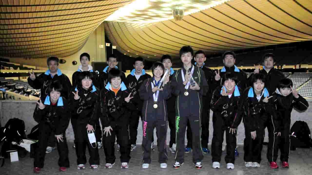 石田卓球クラブ集合写真