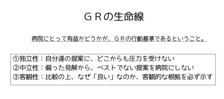 GRの生命線