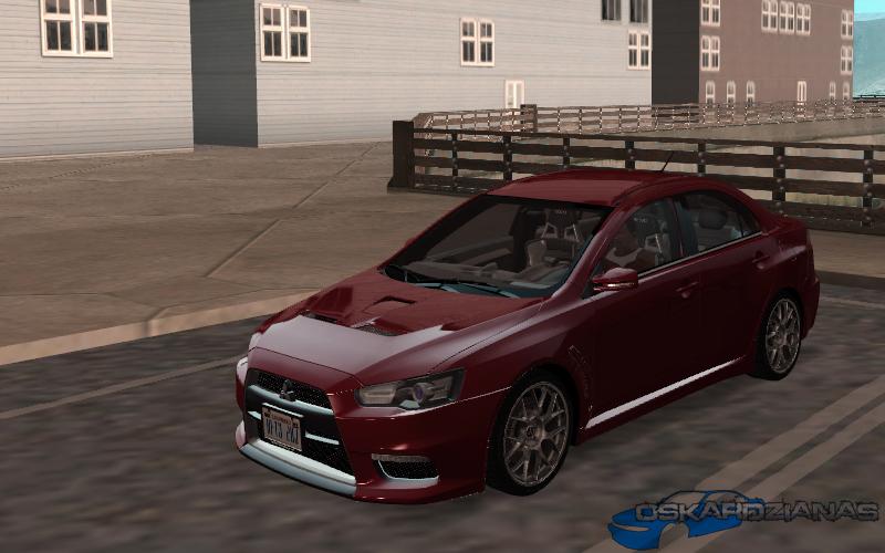 Mitsubishi Evolution X - Stock - Tunable
