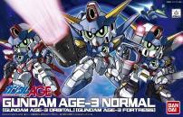 BB戦士 ガンダムAGE-3(ノーマル・オービタル・フォートレス)のパッケージ(箱絵)