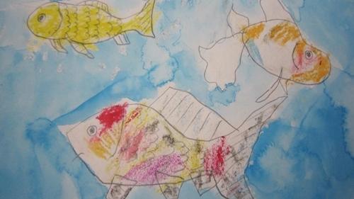 金魚ちゃんの絵