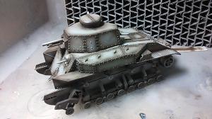 1/35 八九式中戦車 製作中!
