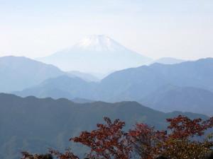 ⑥高尾山からの富士山_1