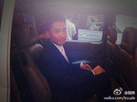 トニーさん@上海映画祭1