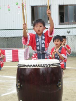 中村町保育園 最後の夏祭り