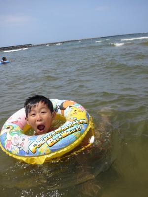 内灘海水浴場 夏休み サーフィン