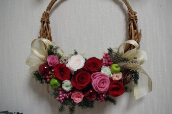 クリスマスリース 9