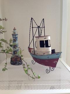 船オブジェ
