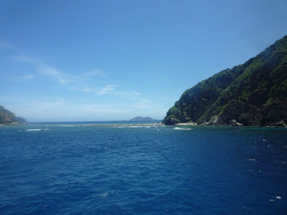 青~~い海!