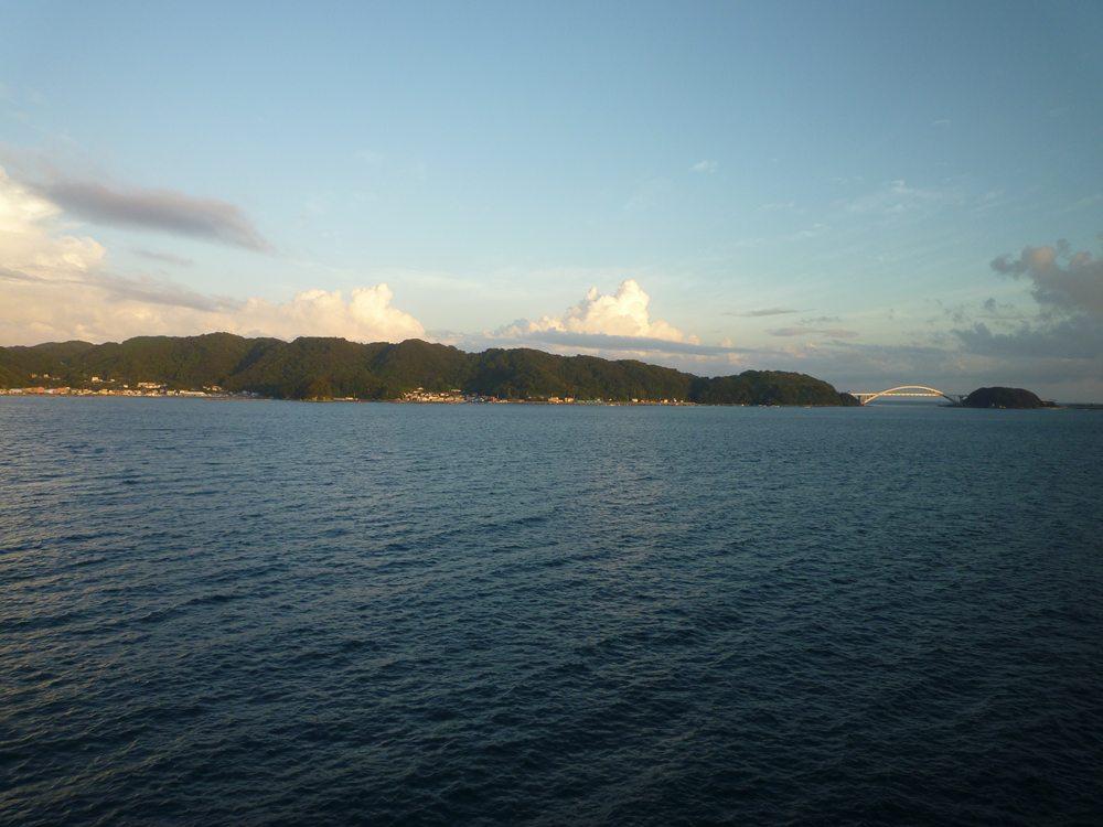 大島の眺め