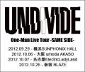 UNDIVIDE 2012 TOUR
