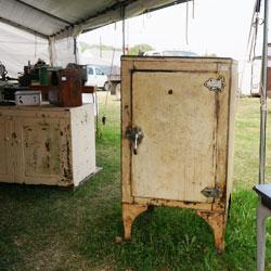 初期の冷蔵庫