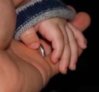 二人の手★小200