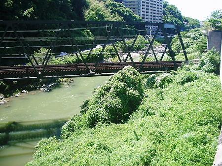 能勢電 鉄橋